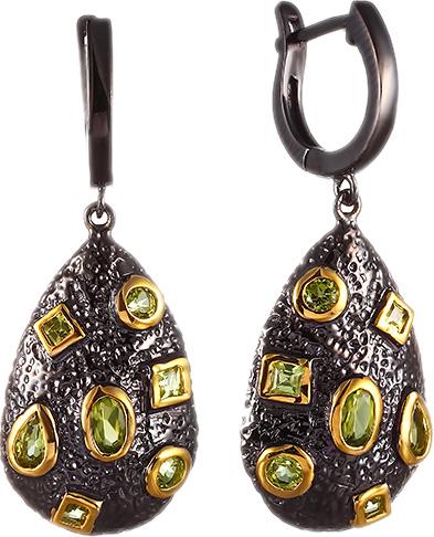 Серьги Element47 by JV BE52665 серьги с подвесками jv серебряные серьги с ювелирным стеклом se0422 us 001 wg