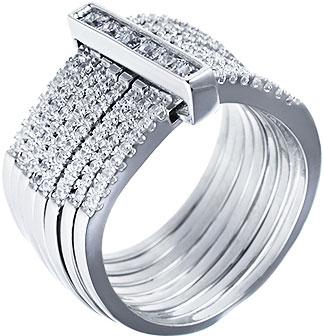 Кольца Element47 by JV CAR1572 женские кольца jv женское серебряное кольцо с куб циркониями sr00025 001 blk 17 5