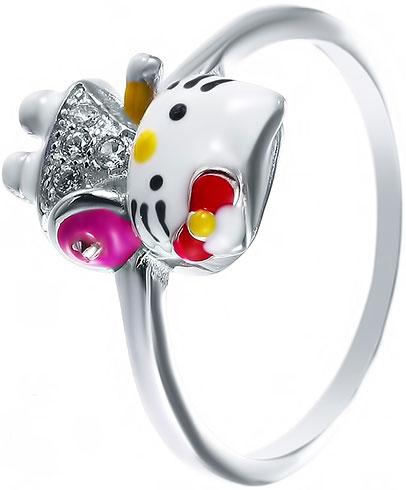 Кольца Element47 by JV DJ026-RING женские кольца jv женское серебряное кольцо с куб циркониями sr00025 001 blk 17 5