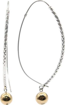 Серьги Element47 by JV DTE4122500000GH-000925S30 серьги с подвесками jv серебряные серьги с ювелирным стеклом se0422 us 001 wg