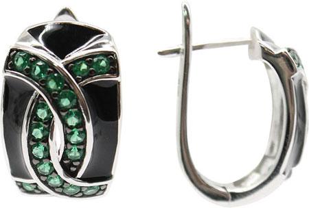 Серьги Element47 by JV E06489 серьги с подвесками jv серебряные серьги с ювелирным стеклом se0422 us 001 wg