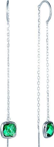 Серьги Element47 by JV E26170-Y2 серьги с подвесками jv серебряные серьги с синт агатами и куб циркониями rjes 001430 02 ags 001 wg