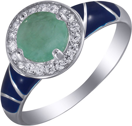 Кольца Element47 by JV EN-06-KO-BR-001-WG женские кольца jv женское серебряное кольцо с куб циркониями pr130138b 001 wg 16 5