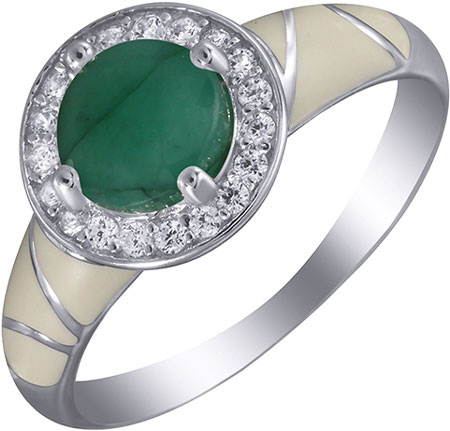 Кольца Element47 by JV EN-06-KO-BR-WENAM-001-WG женские кольца jv женское серебряное кольцо с куб циркониями zr6731 001 wg 18