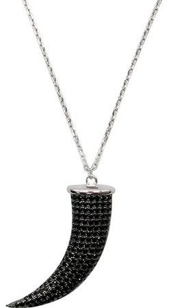Колье Element47 by JV HPP0878-4-black jv женское серебряное кольцо с куб циркониями sr01924czzsw 1 001 wg 17
