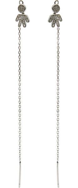 Серьги Element47 by JV J082-8EA0153 серьги с подвесками jv серебряные серьги с авантюринами куб циркониями и позолотой or 3664 aw 001 yg