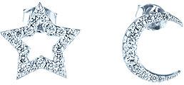 Серьги Element47 by JV ME01567A женские кулоны jv серебряный кулон с куб циркониями sp02205qptsw 1 001 wg