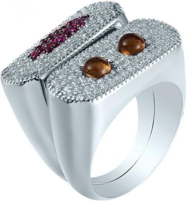 Кольца Element47 by JV R28027 женские кольца jv женское серебряное кольцо с куб циркониями sr00025 001 blk 17 5
