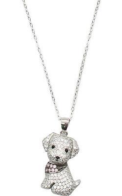Колье Element47 by JV SL4N000334L jv женское серебряное кольцо с куб циркониями sr01924czzsw 1 001 wg 17