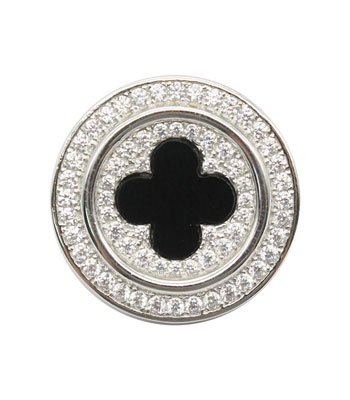 Броши Element47 by JV SO-B0216 броши jv серебряная брошь кулон с перламутром bls 39 shgl wg