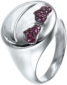 Кольца Element47 by JV SR28056 женские кольца jv женское серебряное кольцо с позолотой и лазуритами r21096 la lp yg 17 5