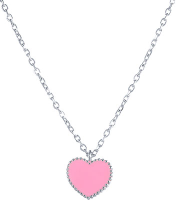 Кулоны, подвески, медальоны Element47 by JV SS-A0021NC-rose женские кулоны jv серебряный кулон с обсидианом p1293 cteob wg