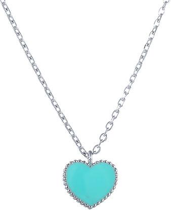 Кулоны, подвески, медальоны Element47 by JV SS-A0021NC-blue женские кулоны jv серебряный кулон с обсидианом p1017 dob wg
