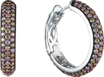 Серьги Element47 by JV SYE17C012J серьги с подвесками jv серебряные серьги с ювелирным стеклом e1366d us 012 wg