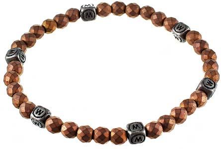 Браслеты Element47 by JV TOE-316-60130-BT-GE-BLK женские браслеты jv женский серебряный браслет с ларимарами кайонитами аквамаринами топазом и культив жемчугом b5002 aq bt k lr ww wg 17