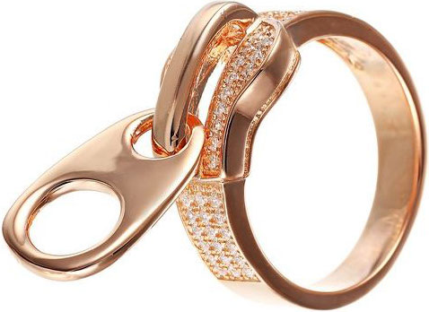 Кольца Element47 by JV WR25153-W женские кольца jv женское серебряное кольцо с куб циркониями yr080064e 001 wg 18