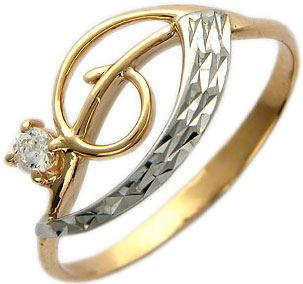 Кольца Эстет 01K114507