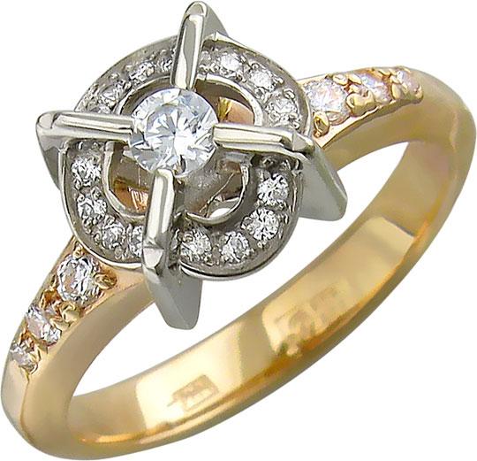 Кольца Эстет 01K166543ZH