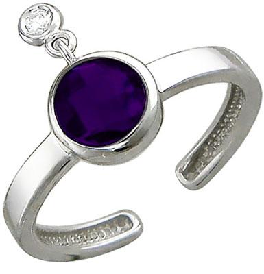 Кольца Эстет 01K258028CAM женские кольца jv женское серебряное кольцо с ювелирным стеклом sr0557 us 002 wg 17 5