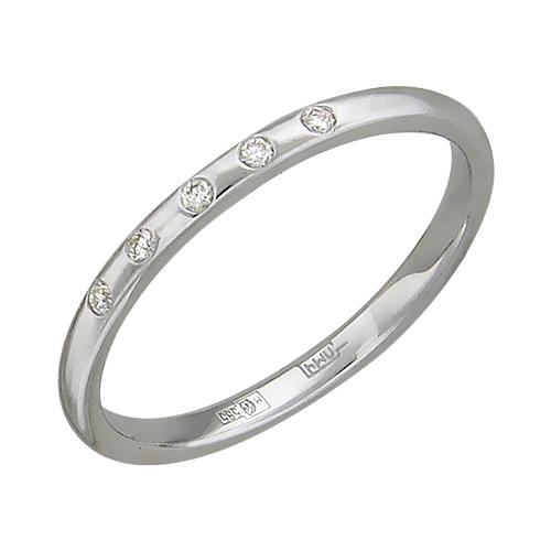 Кольца Эстет 01K627655W кольцо эстет женское золотое кольцо с куб циркониями nd1141393 17