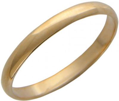 Кольца Эстет 01O010013 обручальное кольцо эстет золотое обручальное кольцо с бриллиантом est01о620077b2 18