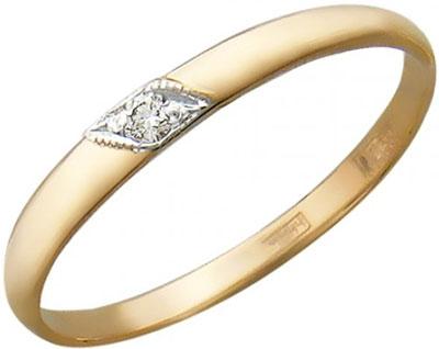 Кольца Эстет 01O110051 обручальное кольцо эстет золотое обручальное кольцо с бриллиантами est01о620101b4 19 5