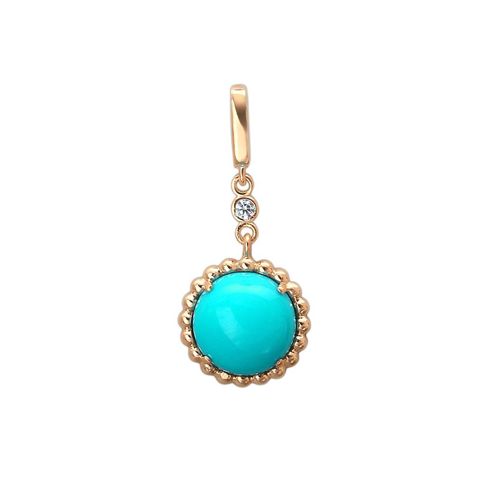 Кулоны, подвески, медальоны Эстет 01P419676-1 подвески бижутерные lotus jewelry подвеска с бирюзой