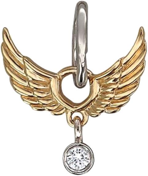 Кулоны, подвески, медальоны Эстет 01P667425ZH женский кулон эстет золотой кулон с бриллиантом п00025rb7