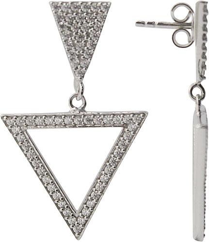 Серьги Эстет 01S1510201 жен крупногабаритные серьги кольца секси крупногабаритные золотой серебряный геометрической формы серьги назначение для вечеринок