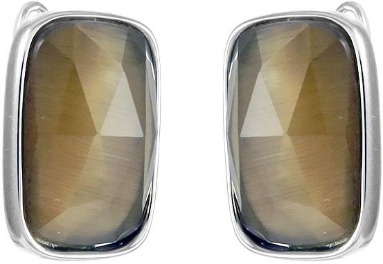 Серьги Evora 11794-e jv золотые серьги с бриллиантами и кошачьим глазом f999tec4w te wg