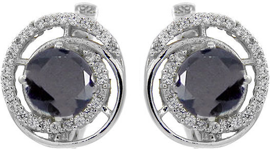 Серьги Evora 628188-e женщины моды rhinestone кристаллические серьги крюка уха стержня подарка ювелирных изделий new