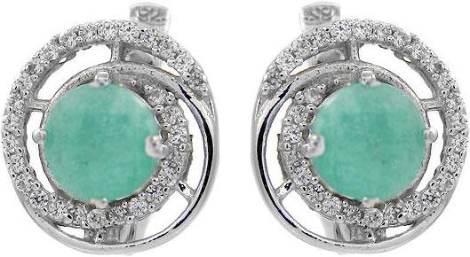 Серьги Evora 628243-e женщины моды rhinestone кристаллические серьги крюка уха стержня подарка ювелирных изделий new