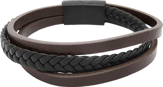 Браслеты Evora 630643-e муж strand браслеты кожаные браслеты кожа браслеты черный коричневый назначение повседневные