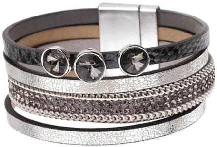 Браслеты Evora 631389-e муж жен wrap браслеты кожа винтаж готика браслеты черный назначение особые случаи подарок
