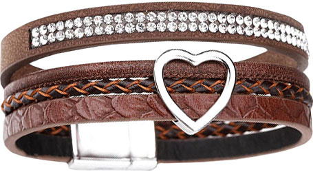 Браслеты Evora 631393-e муж жен кожаные браслеты кожа мода браслеты черный коричневый назначение новогодние подарки для вечеринок особые случаи