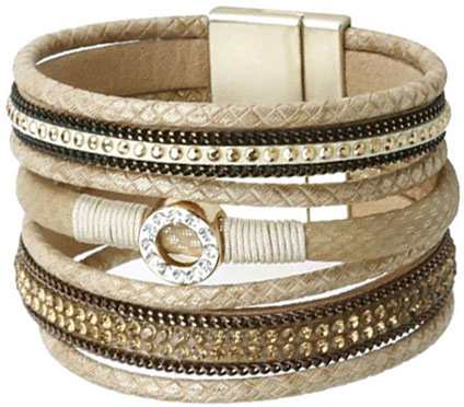 Браслеты Evora 631406-e муж жен wrap браслеты кожа винтаж готика браслеты черный назначение особые случаи подарок
