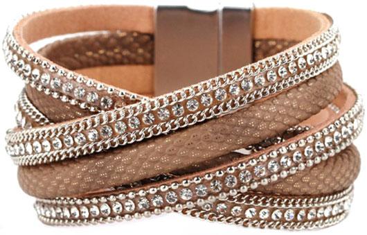 Браслеты Evora 631407-e муж жен кожаные браслеты браслет кожа винтаж камни браслеты черный коричневый назначение подарок повседневные
