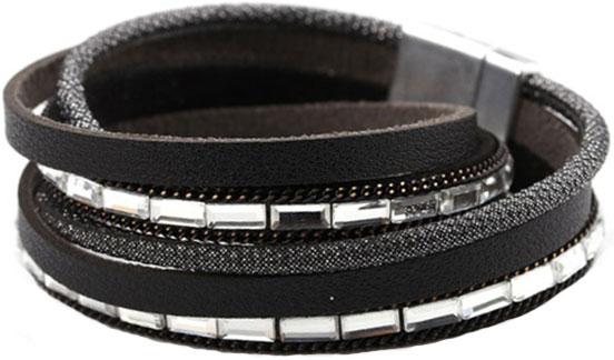 Браслеты Evora 631411-e муж жен кожаные браслеты браслет кожа винтаж камни браслеты черный коричневый назначение подарок повседневные