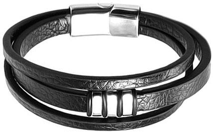 Браслеты Evora 632997-e муж жен кожаные браслеты кожа мода браслеты черный коричневый назначение новогодние подарки для вечеринок особые случаи