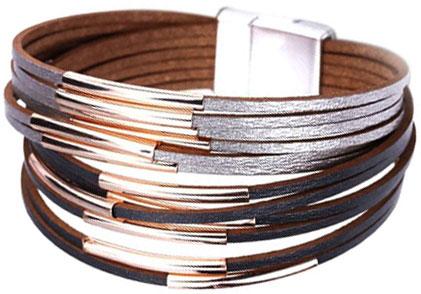 Браслеты Evora 633038-e муж жен кожаные браслеты кожа мода браслеты черный коричневый назначение новогодние подарки для вечеринок особые случаи