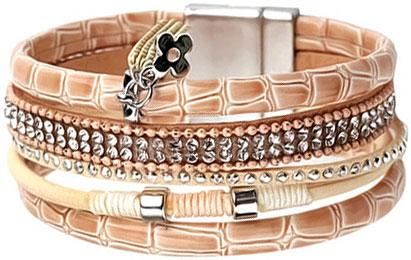 Браслеты Evora 633064-e муж жен кожаные браслеты кожа мода браслеты черный коричневый назначение новогодние подарки для вечеринок особые случаи