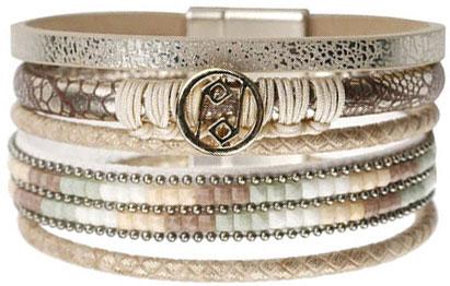 Браслеты Evora 633068-e муж жен strand браслеты wrap браслеты браслеты коричневый назначение новогодние подарки спорт