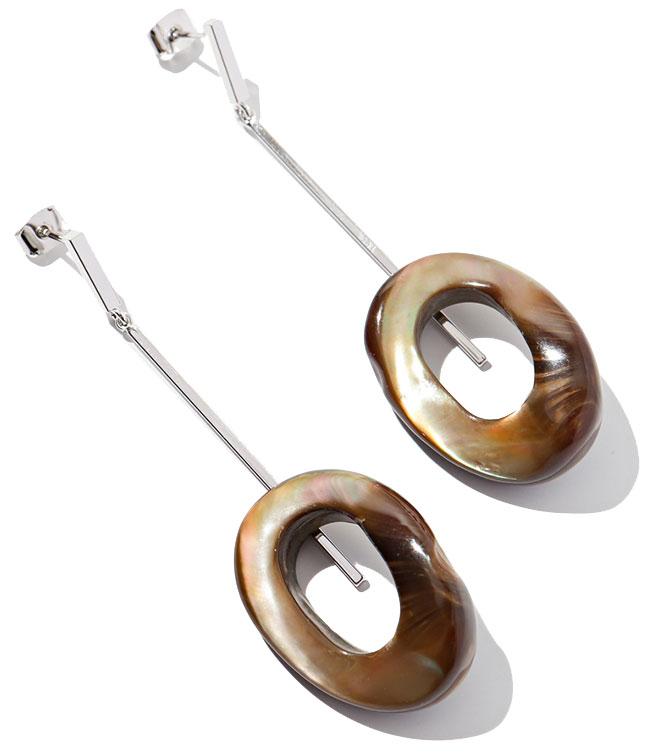 Серьги Exclaim 037S2825E серьги exclaim удлиненные серьги с тонкими серебряными кольцами