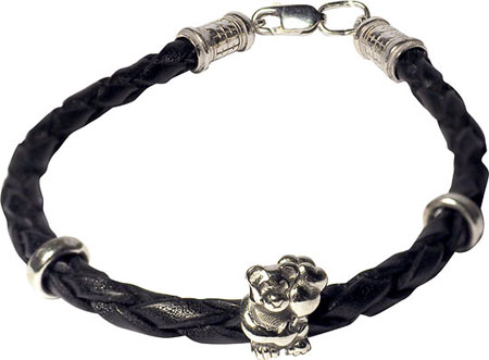 Браслеты Фабрика Ф B-K41294-R муж жен кожаные браслеты кожа мода браслеты черный коричневый назначение новогодние подарки для вечеринок особые случаи