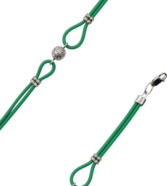 Браслеты Фабрика Ф B-SH007-R браслет с серебряной подвеской ключиком