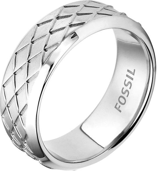 Кольца Fossil JF02064040 мужское кольцо zeades стальное кольцо с кожей zmr03046 21