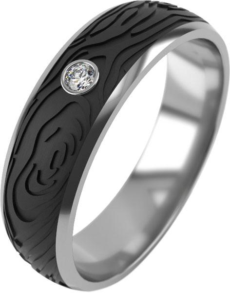 Кольца Graf Кольцов D-7-KB-2-1F/S женские кольца jv женское серебряное кольцо с куб циркониями f 642r 001 wg 17 5
