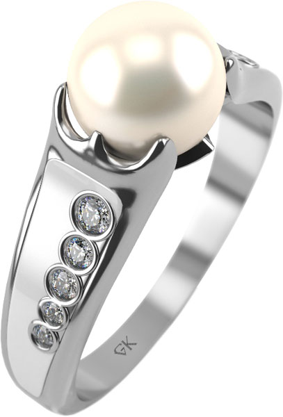 Кольца Graf Кольцов LS-k2/s женские кольца giorgio martello женское серебряное кольцо с культ жемчугом 304059 18 5
