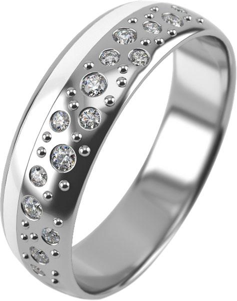 Кольца Graf Кольцов SE-15KB-15F/S женские кольца jv женское серебряное кольцо с куб циркониями f 642r 001 wg 17 5