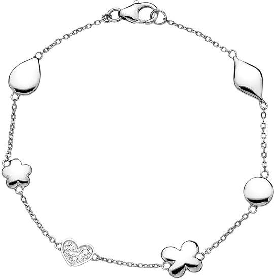 Браслеты Hot Diamonds DL291 браслет soul diamonds женский золотой браслет с бриллиантами buhk 9096 14kw